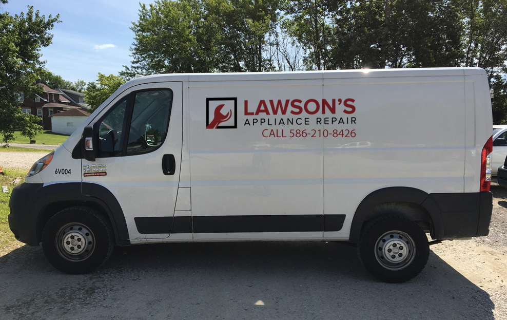 lawson appliance repair van